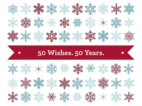 50 Wishes for 50 Years