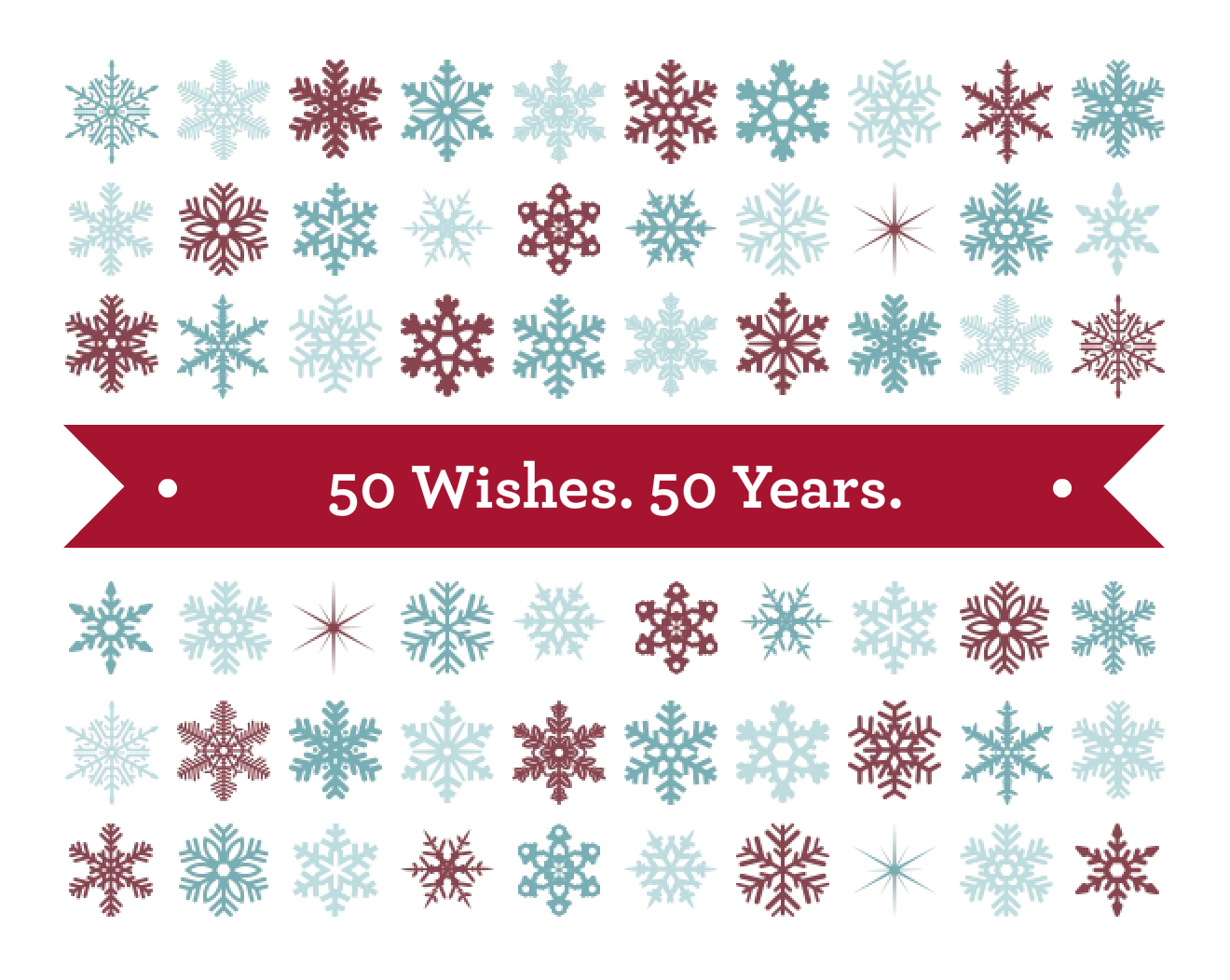 50 Wishes. 50 Years.